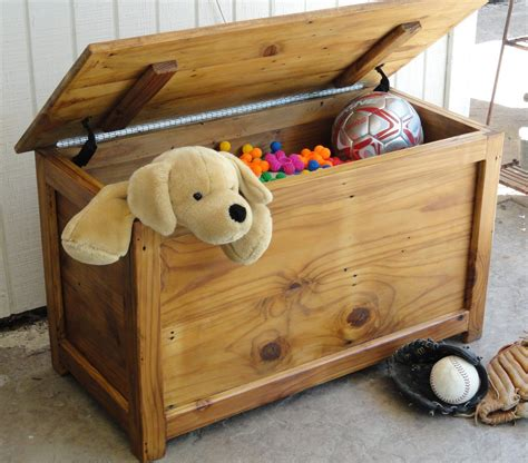 toy box  independent artists child diy toy box wood