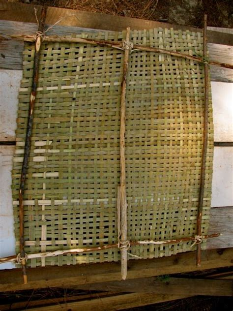 Cattail Mats by Cattail Mat For Drying Food Cattails Amazingly