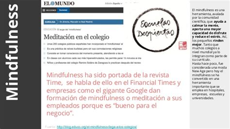educacin mindfulness el 8484456730 tendencias para repensar la educaci 243 n