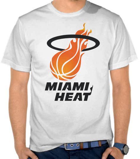 Kaos Basket Nba Suns 1 jual kaos logo tim nba miami heat 1 basket satubaju