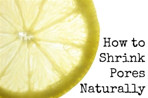 Tips To Minimise Pores by How To Shrink Pores Naturally Water And