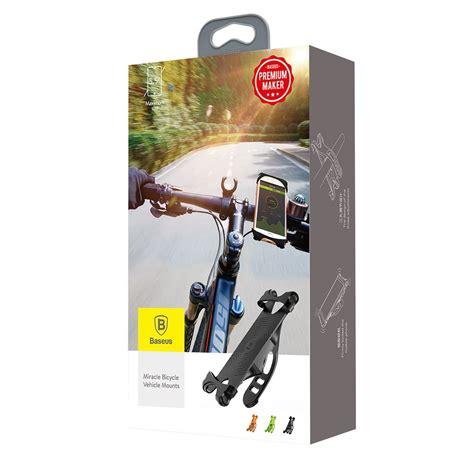 baseus smartphone holder sepeda motor sumir by01 black jakartanotebook