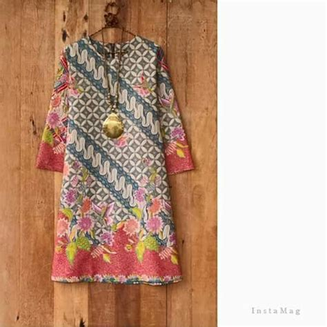 Nabila Tunik Dress Baju Atasan Wanita Blouse Blus Muslim Jumbo 17 best images about fashion inspiration batik wax print ikat tenun songket handwoven