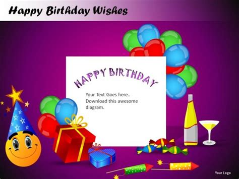 Happy Birthday Wishes Powerpoint Presentation Slides Happy Birthday Powerpoint Presentation