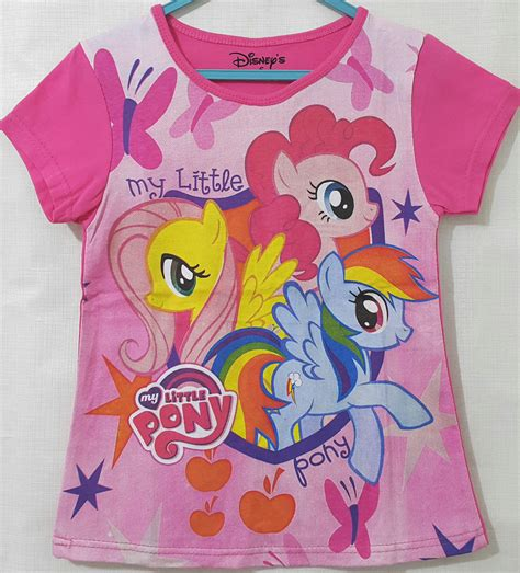 Kaos And Friends kaos anak pony friends pink 1 6 grosir eceran