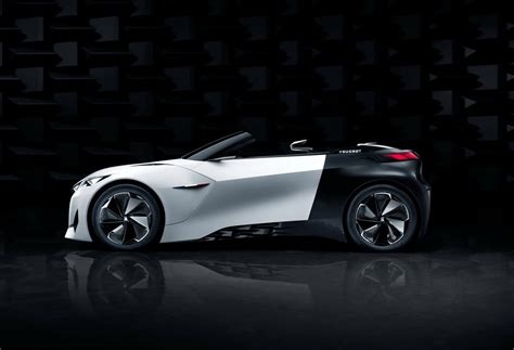 new peugeot convertible peugeot s new fractal coupe hatch convertible concept in