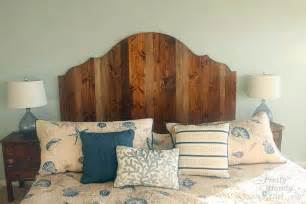 Rustic Wood Headboard How To Create A Rustic Wood King Headboard Pretty Handy