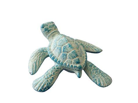 sea turtle home decor buy light blue cast iron sea turtle 4 inch wholesale sea wall
