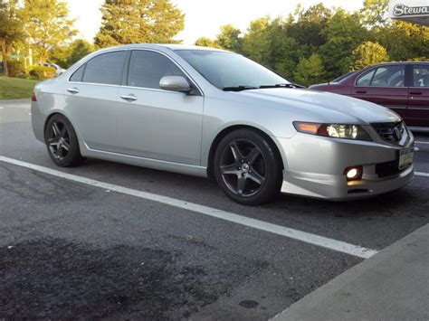 installed acura mugen style kit 04 05 tsx cl7