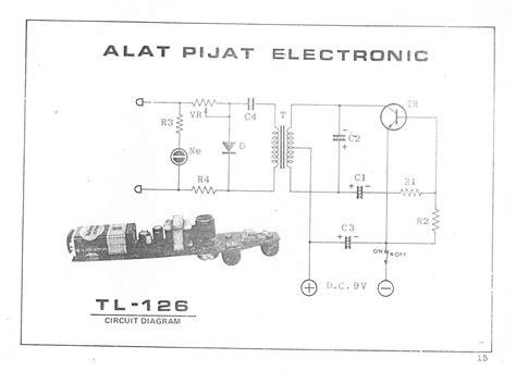 Alat Pijat Elektronik Canggih skema alat pijat elektronik tl 126 wonglendah