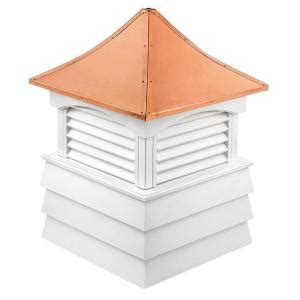 directions sherwood vinyl cupola with copper roof 18