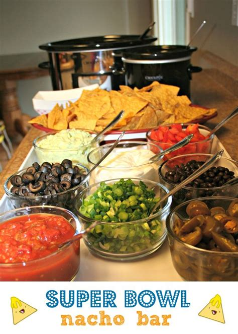 nacho bar topping ideas super bowl nacho bar recipe tacos sweet corn and good