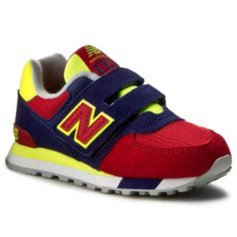 colorful new balance sneakers new balance kv574wiy colourful velcro low