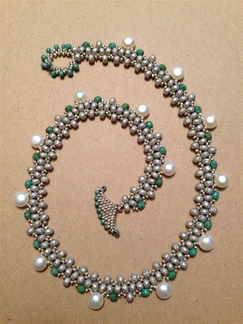beading with superduos seed bead woven necklace beth if you give a