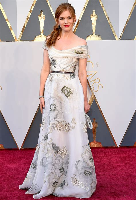 And Isla Fisher Oscar Twinkies by Oscars 2016 Carpet See All The At The Academy