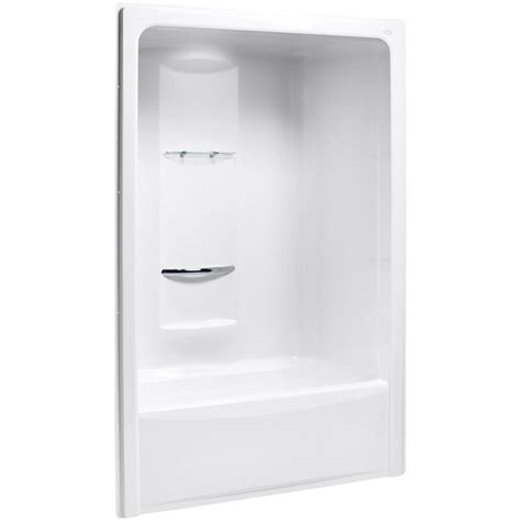 bath and shower kits kohler sonata 60 in x 34 8125 in x 90 in bath and