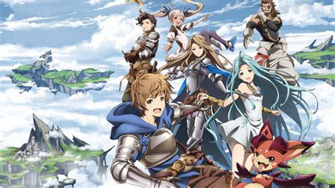 anime update 2017 granblue fantasy the animation airs in january 2017