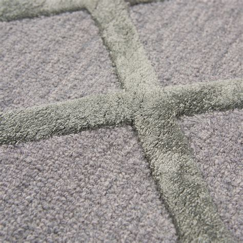 Gray Runner Rug Basic Trellis Wool Runner Rug In Gray Silver 2 6 Quot X 8