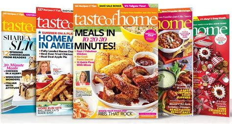 taste of home magazine for only 4 50 per year 73