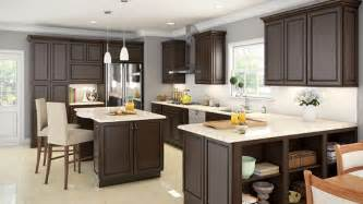 Grey Interior Wood Stain Kitchen Cabinets Rta Los Angeles Remodeling