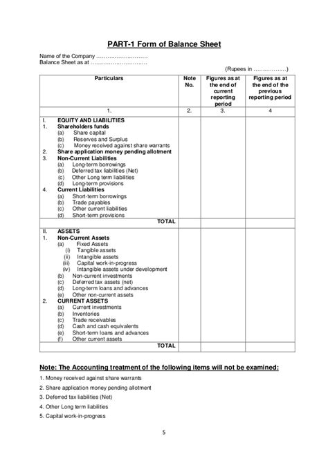 format of cash flow under companies act 2013 accountancy for class xii