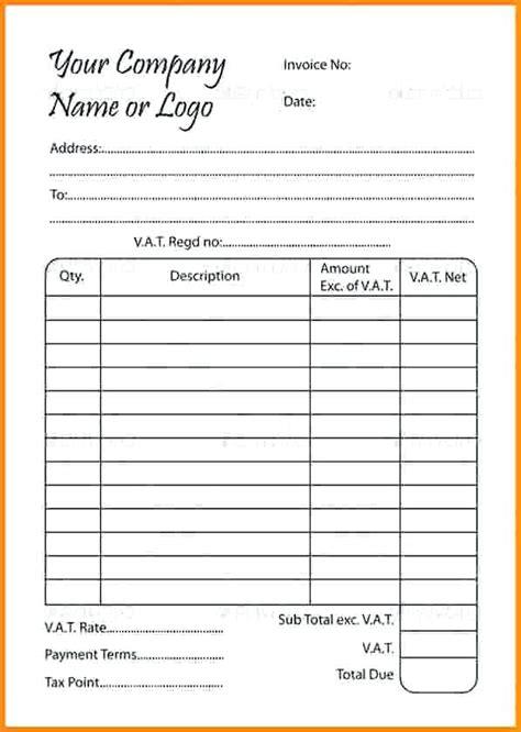 fill in template fill in receipt template rusinfobiz