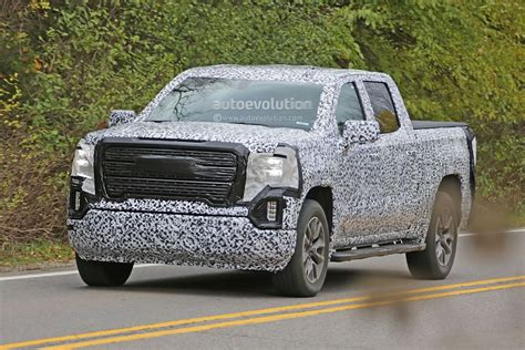 2019 Gmc 1500 Duramax by Spyshots 2019 Gmc 1500 Gets Aggressive Grille And