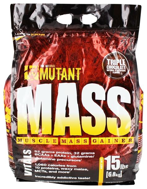 Mutant Mass 15 Lbs Gainer buy mutant mass mass gainer chocolate 15