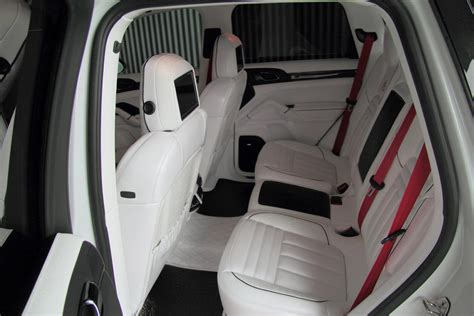 porsche suv white interior anderson germany porsche cayenne ii white dream edition