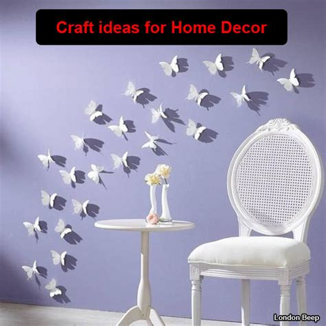 craft home decor ideas 19 attractive craft ideas for home decor 2015 london beep