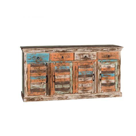 credenza vendita credenza colorata legno riciclato vendita prezzo outlet on