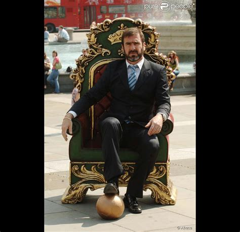 The King Cantona eric cantona is the king purepeople
