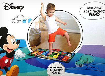 Disney Junior Electronic Mat - 39 toys for toddlers into mickey mouse notes