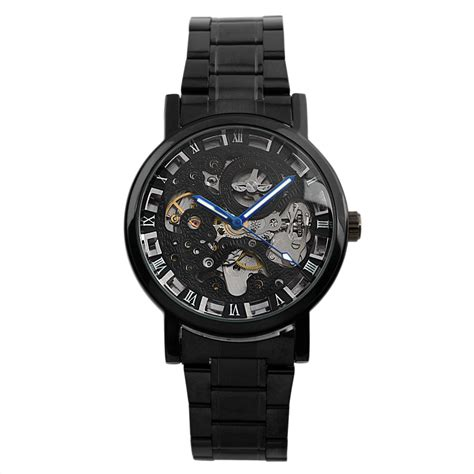 Jam Tangan Mechanical Ess Wm282 ess jam tangan mechanical wm282 black