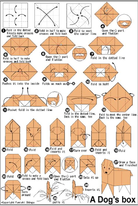 How To Make A Origami Puppy - origami
