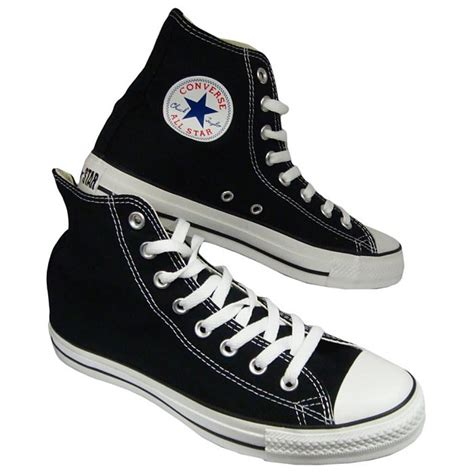 converse sneakers black high top converse sneakers