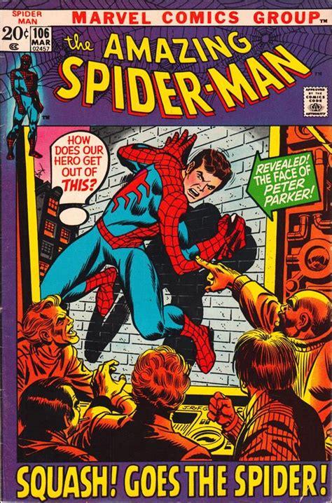 the amazing spider marvel spider golden book amazing spider 106 a mar 1972 comic book by marvel