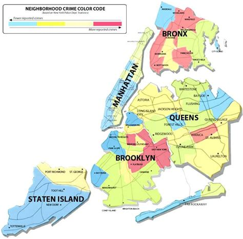 map of areas in nyc map of nyc neighborhoods judgemental map