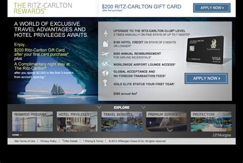 Ritz Gift Card - travelsort com ritz carlton rewards card 70 000 points and 200 gift card worth it