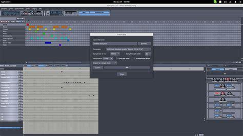 tutorial hydrogen drum machine hydrogen a software drum machine for linux