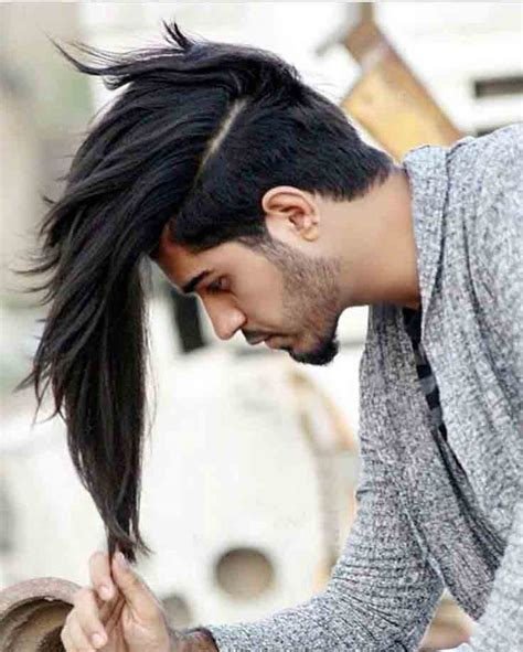 hairstyles for guys with long hair latest long haircuts and hairstyles for men in 2018