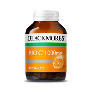 Blackmores Vitamin C 1000mg Blackmores Bio C 1000mg 150 Tablets Amcal