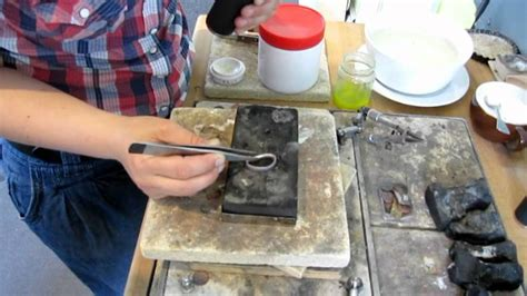 Silberring Polieren by Silberringe Selber Schmieden Mpg Youtube