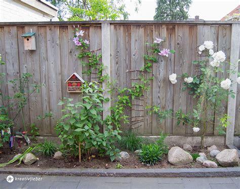 einfache pflanzen für den garten diy kletterhilfe f 252 r pflanzen im garten bauen