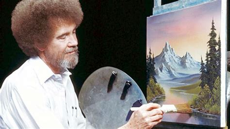 bob ross happy painter you can now the bob ross is everywhere