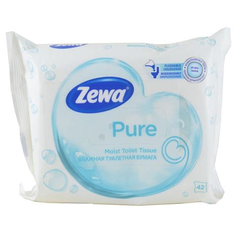 moist toilette zewa pure moist toilet tissue 42 wipes approved food