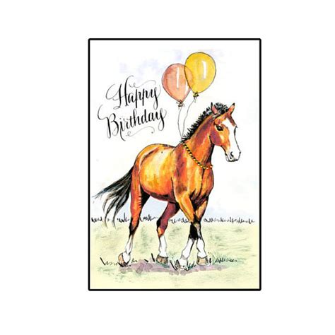imagenes de feliz cumpleaños con caballos tarjetas de feliz cumplea 241 os con caballos imagui