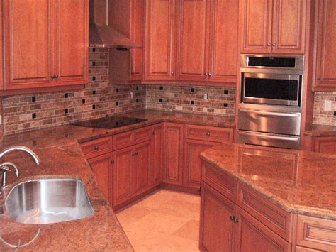 kitchen backsplash with granite countertops gabriella flooring residential commercial portfolio
