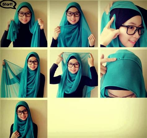 model jilbab terbaru dan cara cara memakai jilbab segitiga simple terbaru 2017 bundaku net