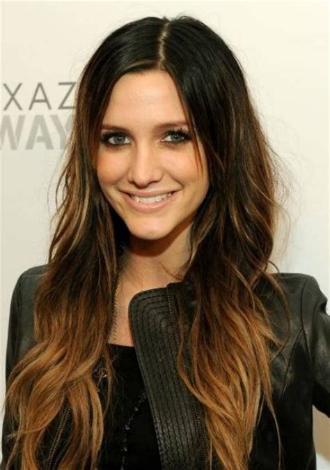 brunette hairstyles for oval faces dark brunette hair with blonde highlights long hairstyle